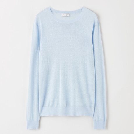 Concolor Pullover Sweater // Airy Blue (S)