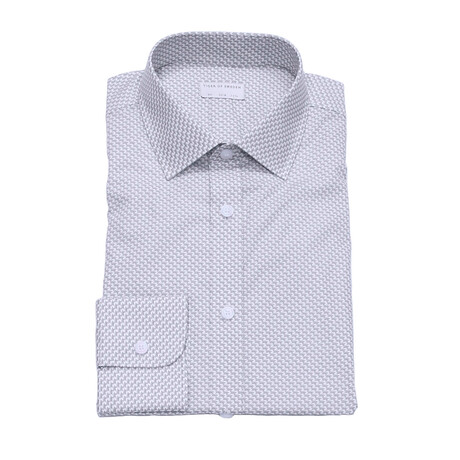 Fridolf Long-Sleeve Button Down Shirt // Blue (S)