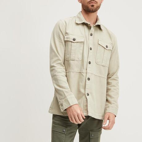 Workman Shirt-Jacket // Beige (XS)