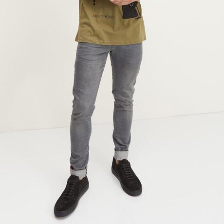 Milano Slim Fit Jeans // Gray (28WX30L)