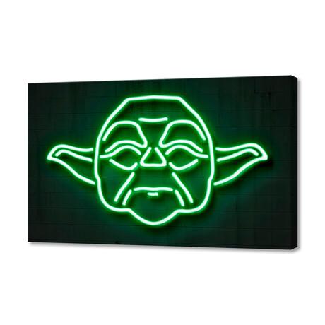 """Yoda (8""""H x 12""""W x 1.5""""D)"""