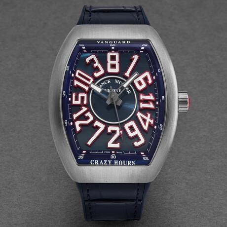 Franck Muller Vanguard Crazy Hours Automatic // 45CHTTAMERBLU