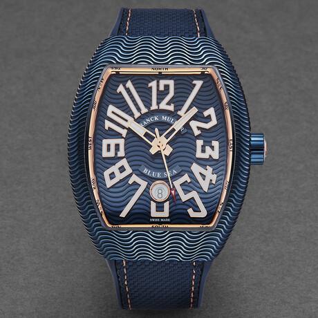 Franck Muller Vanguard Blue Sea Automatic // 45SCBLUSEABLU