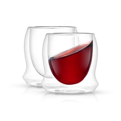 Cosmos Double Wall Stemless Wine // 10 oz // Set of 2