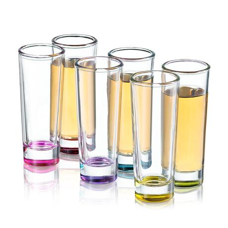 Kolor Shot Glasses // 2.5 oz // Set of 6