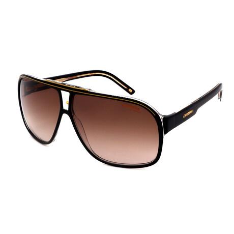 Carrera // Men's Grand Prix 807 Sunglasses // Black + Red