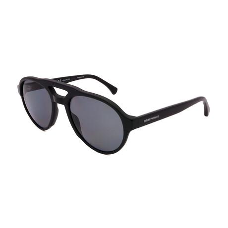 Emporio Armani // Men's EA4128-501781 Sunglasses // Black