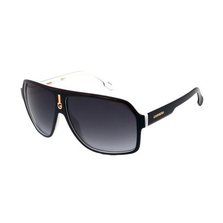 Carrera // Men's 1001-S 80S Sunglasses // Black + Red