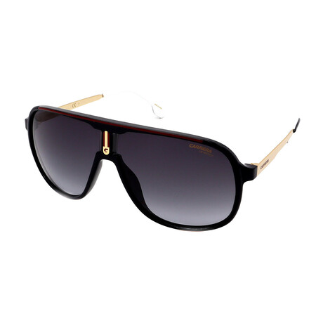 Carrera // Men's 1007-S 0807 Sunglasses // Black + Red
