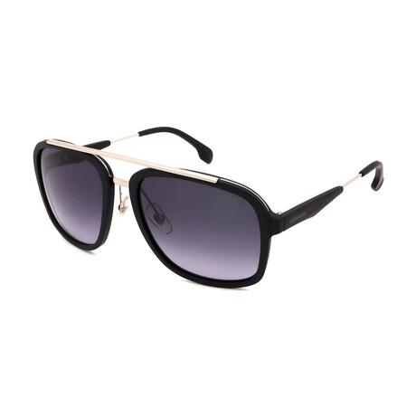 Carrera // Men's 133-S-T17 Sunglasses // Black + Silver