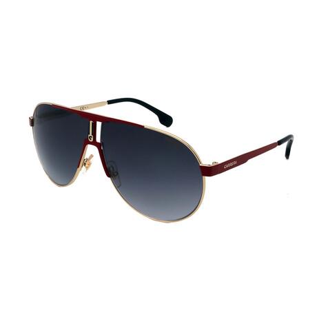Carrera // Men's 1005-S Au2 Sunglasses // Gold + Red