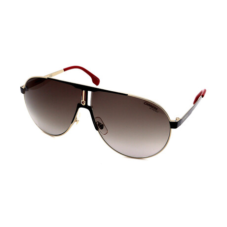 Carrera // Men's 1005-S 2M2 Sunglass // Black + Gold + Red