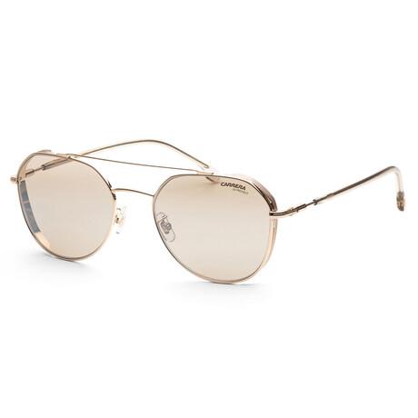 Carrera // Men's CA222GS-000-K1 Sunglasses // Rose Gold + Gold Mirror