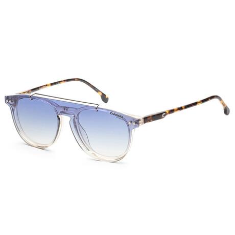 Carrera // Unisex CA2024TCS-HAM-IE Sunglasses // Yellow + Blue Gradient Beige