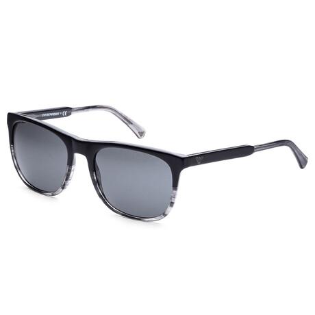 Emporio Armani // Men's EA4099-55668756 Sunglasses // Black + Gray