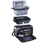 Buccaneer Portable Charcoal Grill + Cooler Tote