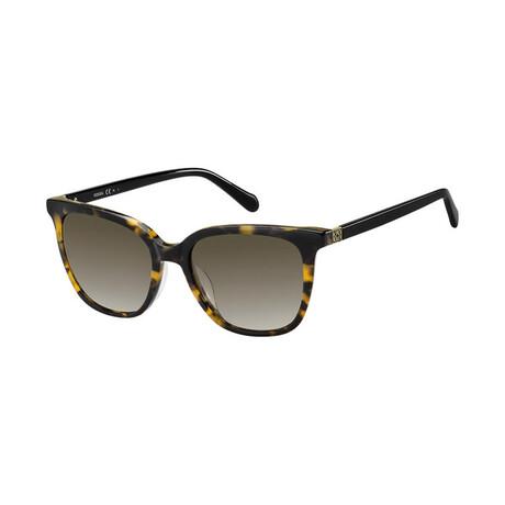 Women's Cat Eye Sunglasses // Havana + Brown