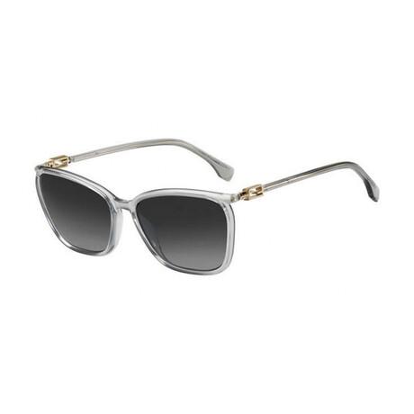 Women's Cat Eye Sunglasses // Gray + Dark Gray