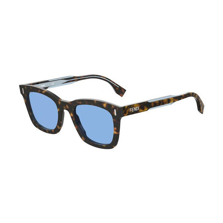 Men's Square Sunglasses // Blue