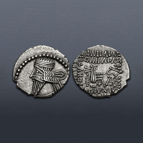 Parthia, Ancient Persia, 78-120 AD // Silver Coin