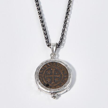 Medieval Armenia, King Hetoum, 1226 - 1270 AD // Coin Pendant
