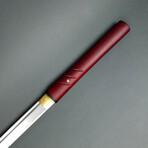 Musha Zatoichi Style Shirasaya // Burgundy