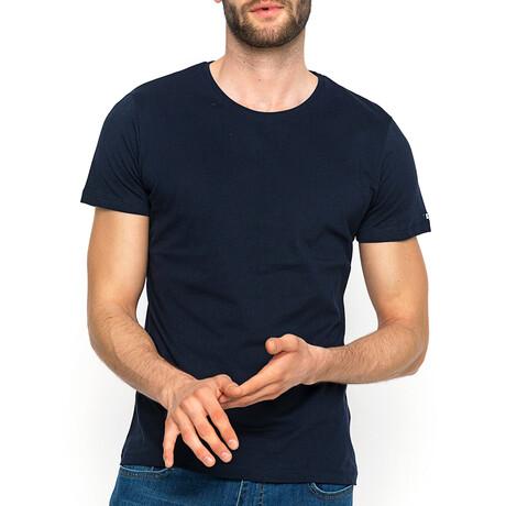 Sean T-Shirt // Navy (XS)