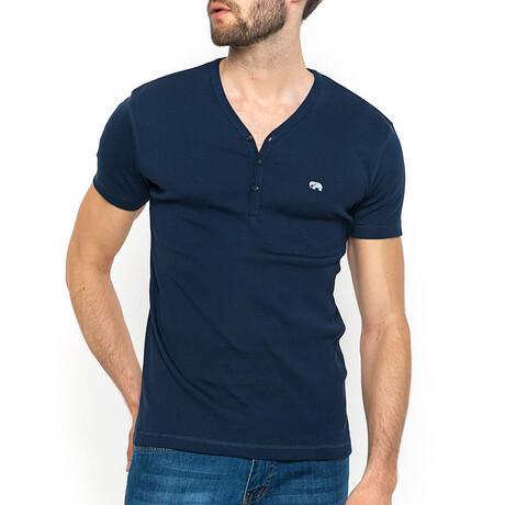 Walker T-Shirt // Navy (XS)