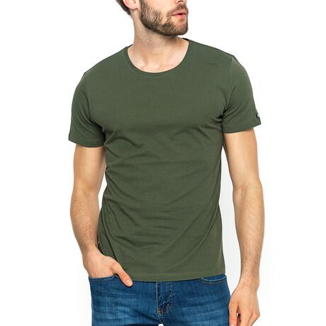 Colton T-Shirt // Khaki Green (XS)