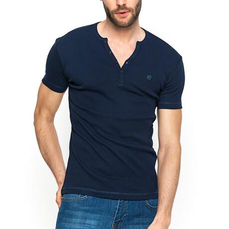 Ryan T-Shirt // Navy + White (XS)