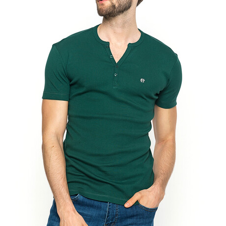 Spencer T-Shirt // Khaki Green (XS)