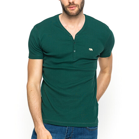 Hank T-Shirt // Khaki Green (XS)