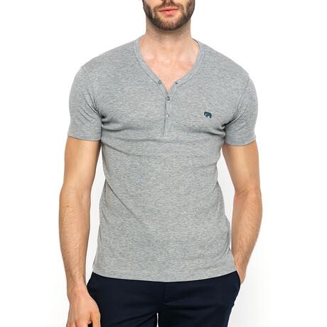 Ocean T-Shirt // Gray Melange (XS)