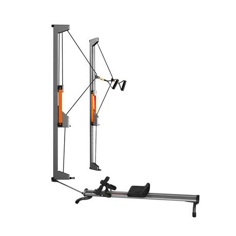 TUT Trainer™ Double Tower + Rower™ Bundle