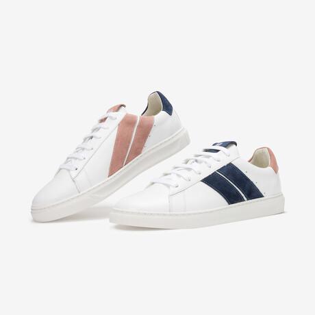 Pink Night Sneaker // Pink + Blue (Euro Size 36)