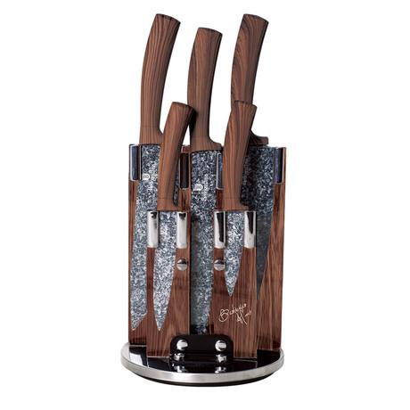 6-Piece Knife Set // Forest Gray