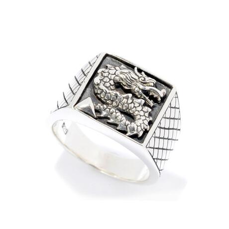 Sterling Silver Dragon Ring (8)