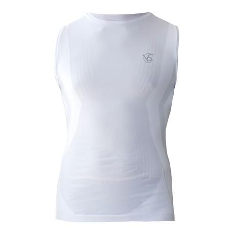 VivaSport // 5.0 Sleeveless T-shirt // White (S/M)
