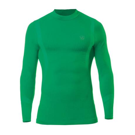 VivaSport // 5.0 Thermal Long Sleeve T-Shirt // Verde (S/M)