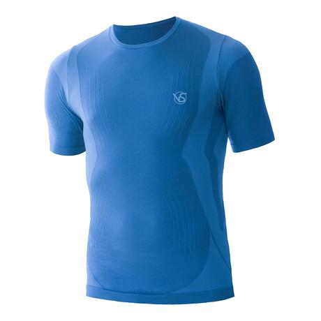 VivaSport // 5.0 Short Sleeve T-Shirt // Azzurro (S/M)