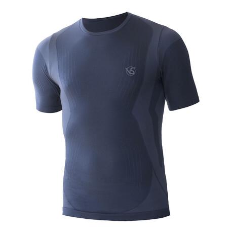 VivaSport // 5.0 Short Sleeve T-Shirt // Blue (S/M)