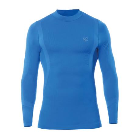 VivaSport // 5.0 Thermal Long Sleeve T-Shirt // Azzurro (S/M)
