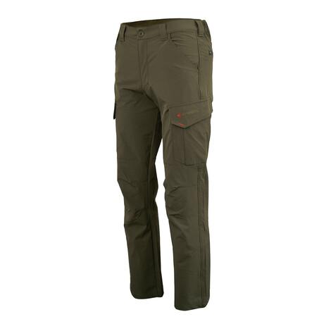 Lagunitas Trekking Cargo Pants // Olive Green (Small)