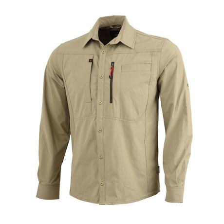 Tamalpais Shirt // Khaki (Small)