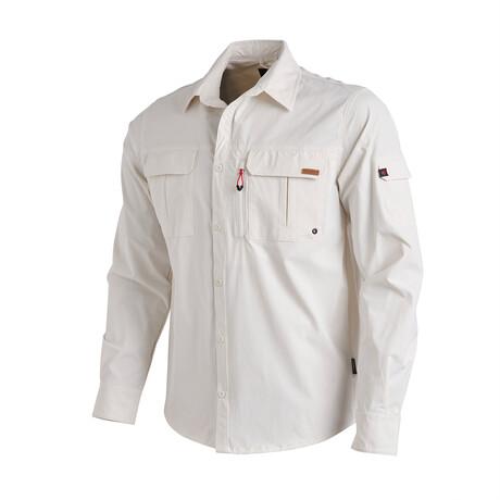 Muir Shirt // Ecru (Small)