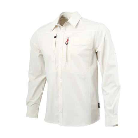 Tamalpais Shirt // Ecru (Small)