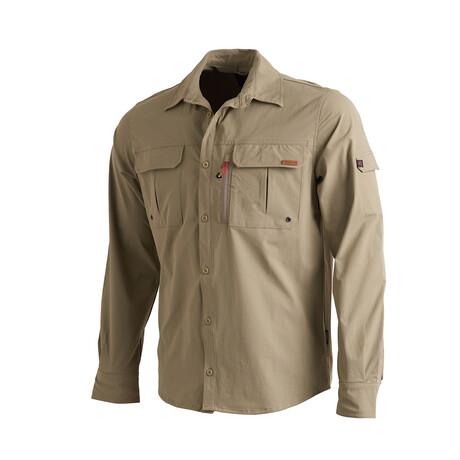 Muir Shirt // Khaki (Small)