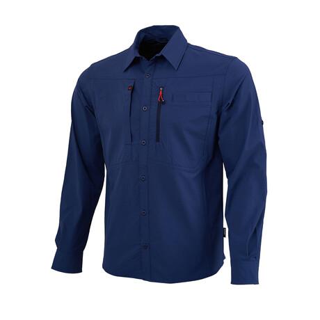 Tamalpais Shirt // Navy (Small)