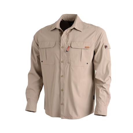 Muir Shirt // Beige (Small)