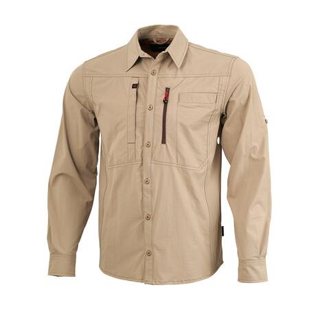 Tamalpais Shirt // Beige (Small)